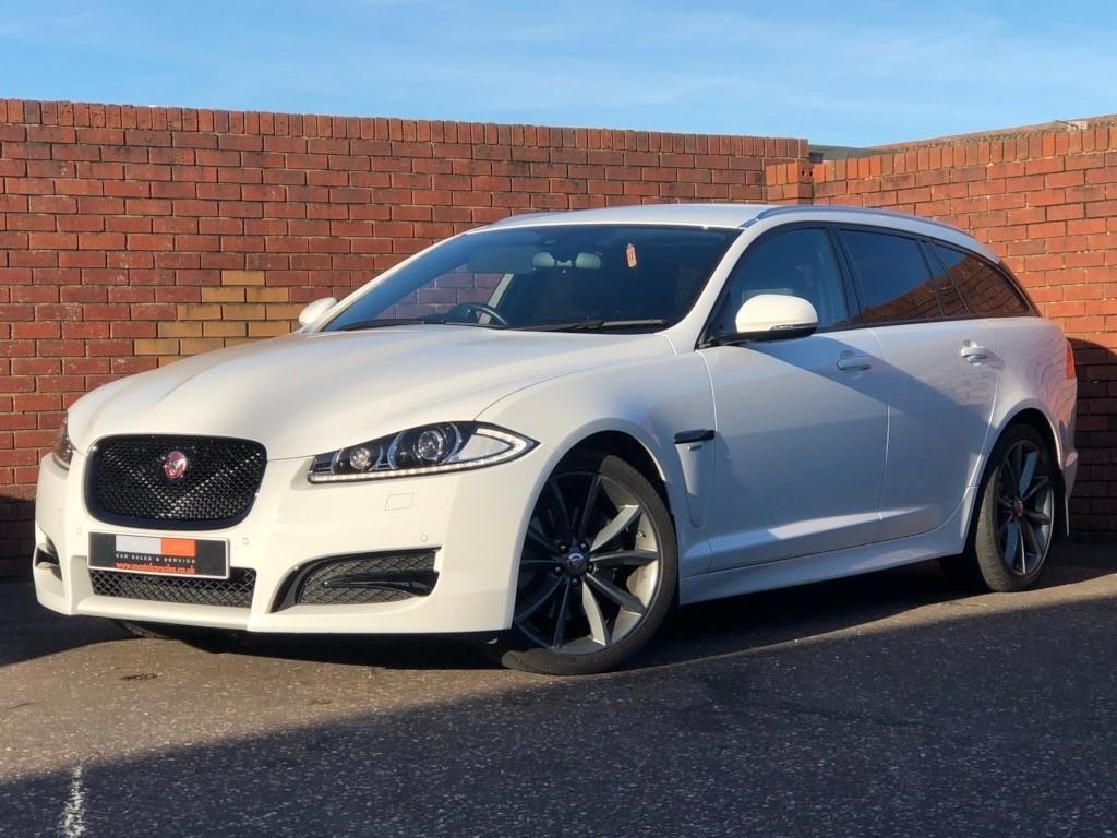 Jaguar Xf White Colour