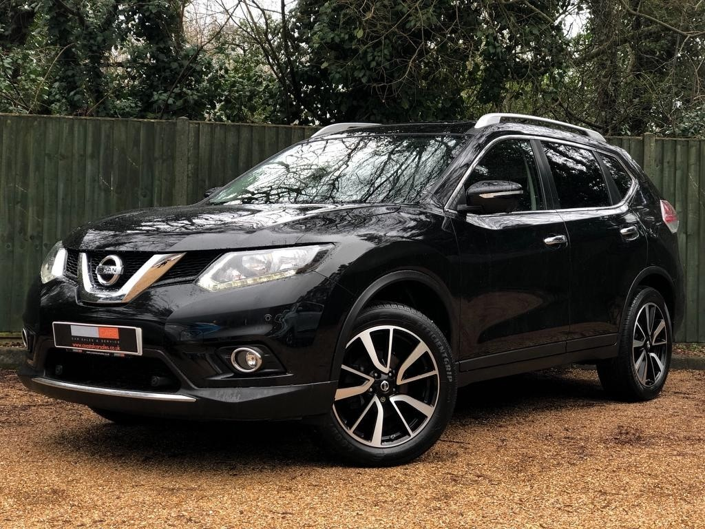 1b1f1379f8 Used Black Nissan X-Trail for Sale