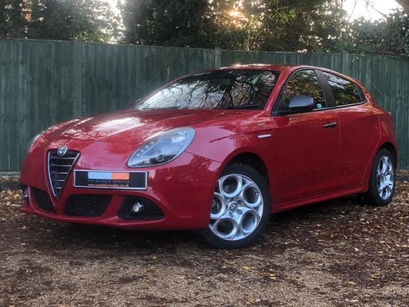 used Alfa Romeo Giulietta TB MultiAir Sprint (s/s) 5dr in in-dorset