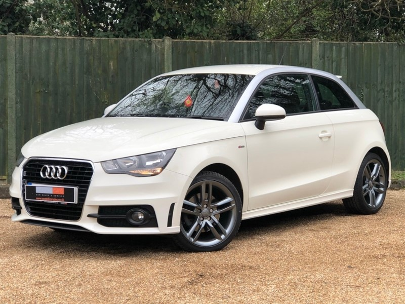 used Audi A1 TFSI S line Tronic 3dr in in-dorset