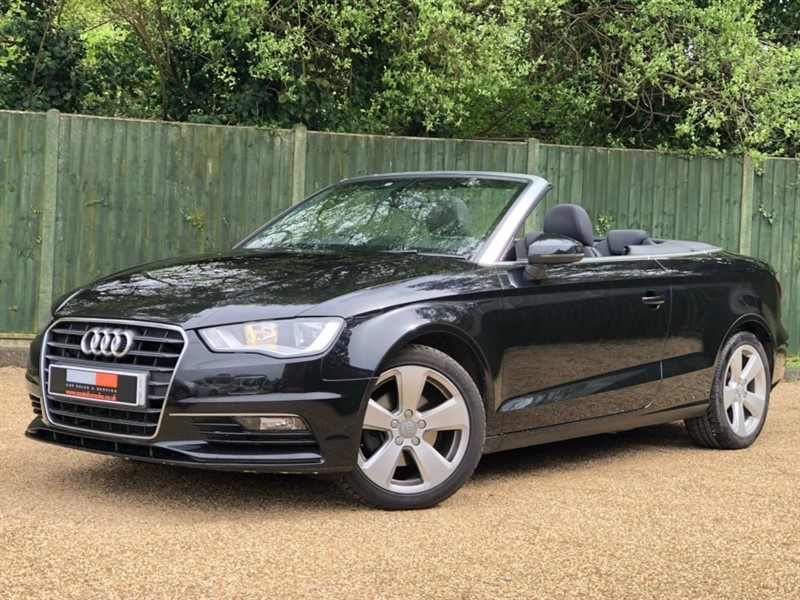 used Audi A3 Cabriolet TDI Sport Convertible 2dr Manual (110 g/km, 148 bhp) in in-dorset