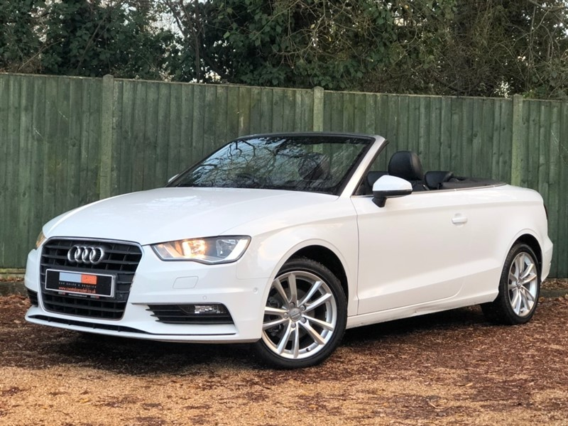 used Audi A3 Cabriolet TFSI CoD Sport S Tronic 2dr (Nav) in in-dorset