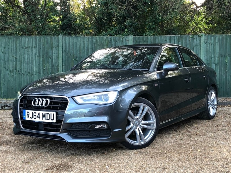 used Audi A3 TDI S Line Saloon Tronic 4dr (start/stop) in in-dorset