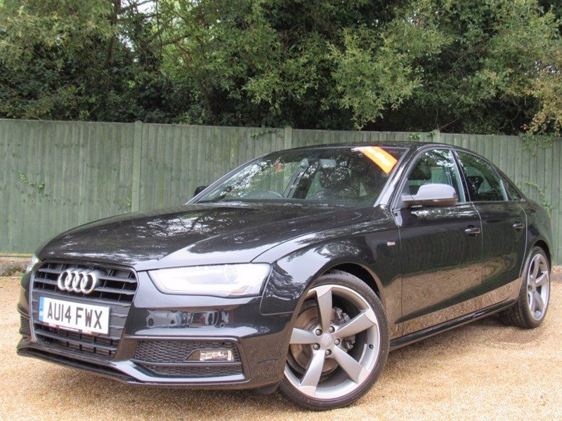 used Audi A4 TDI Black Edition 4dr (start/stop) in in-dorset