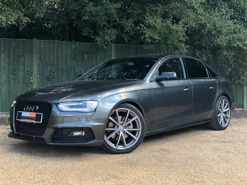 used Audi A4 TDI Black Edition Plus 4dr in in-dorset
