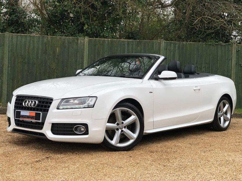 used Audi A5 Cabriolet TDI S line 2dr in in-dorset