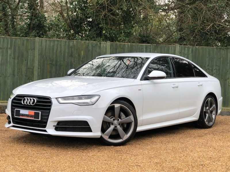 used Audi A6 Saloon TDI Black Edition S Tronic (s/s) 4dr in in-dorset