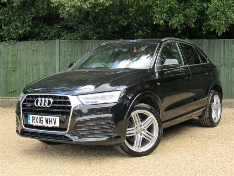 used Audi Q3 TDI S Line Plus Quattro 5dr (start/stop) in in-dorset
