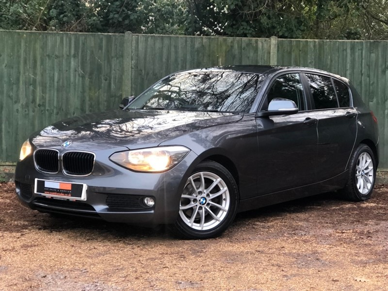 used BMW 116d 1 Series EfficientDynamics 5dr in in-dorset