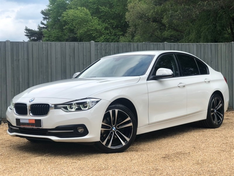 used BMW 318d 3 Series Sport (s/s) 4dr in in-dorset