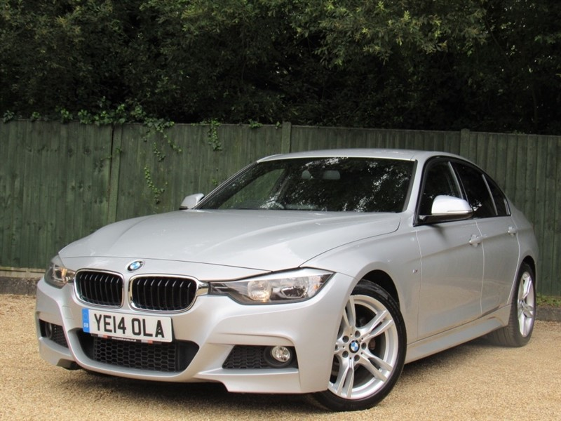 used BMW 320d 3 Series M Sport 4dr (start/stop) in in-dorset