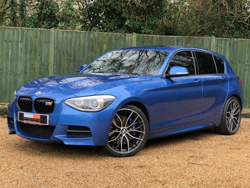 used BMW M135i 1 Series M Sports Hatch Sport Auto 5dr in in-dorset