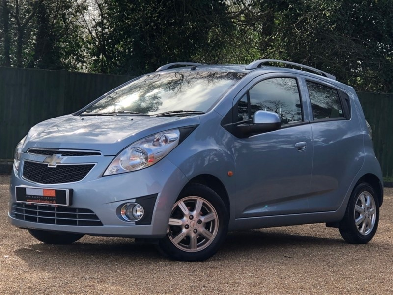 used Chevrolet Spark 1.2 LT 5dr in in-dorset