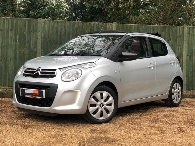 used Citroen C1 PureTech Feel Airscape 5dr in in-dorset