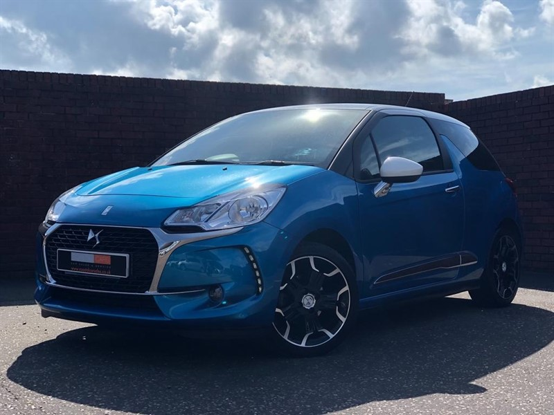 used DS 3 BlueHDi Elegance (s/s) 3dr in in-dorset