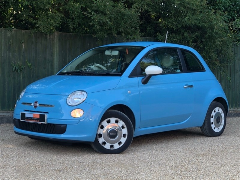 used Fiat 500 1.2 Colour Therapy (s/s) 3dr in in-dorset