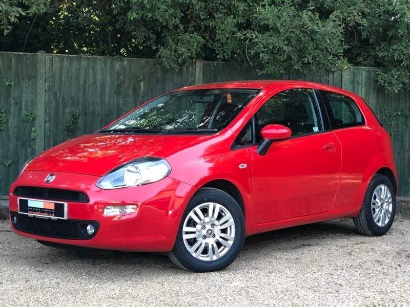 used Fiat Punto 1.2 Easy 3dr in in-dorset