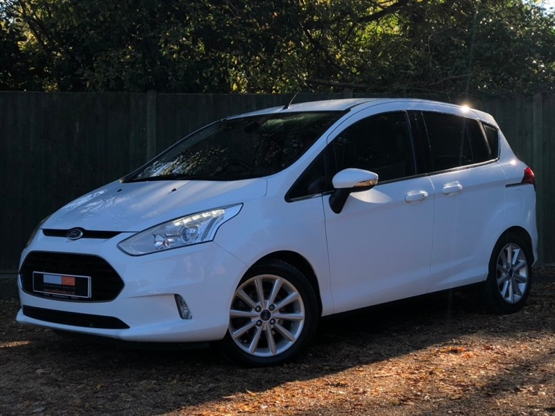 used Ford B-Max EcoBoost Titanium (s/s) 5dr in in-dorset