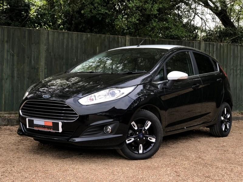 used Ford Fiesta Zetec Black Edition 5dr in in-dorset