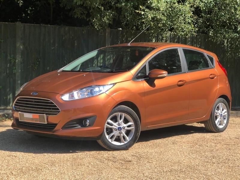 used Ford Fiesta EcoBoost Zetec (s/s) 5dr (EU6) in in-dorset