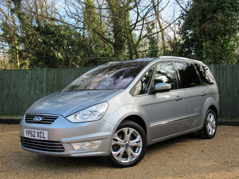 used Ford Galaxy TDCi Titanium 5dr in in-dorset