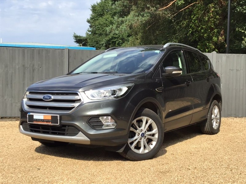 used Ford Kuga TDCi Titanium 4WD (s/s) 5dr in in-dorset