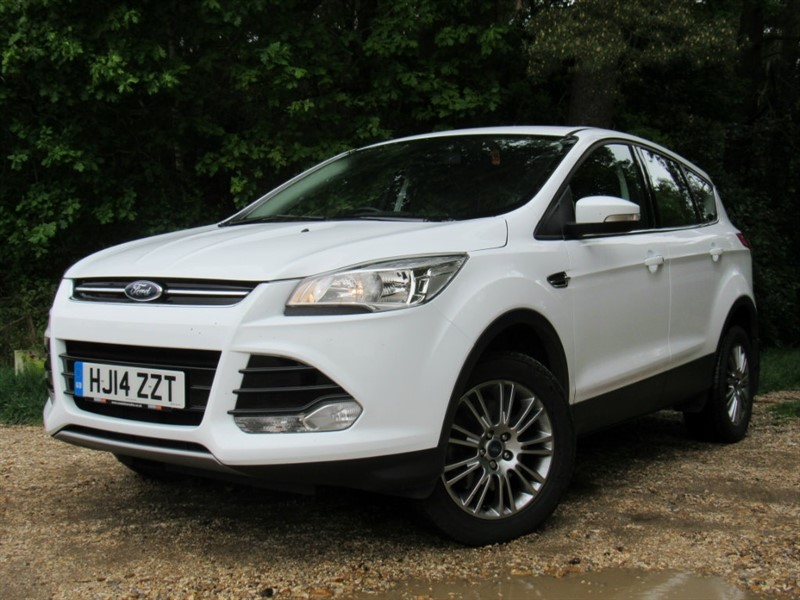 used Ford Kuga TDCi Titanium Station Wagon (AWD) 5dr in in-dorset
