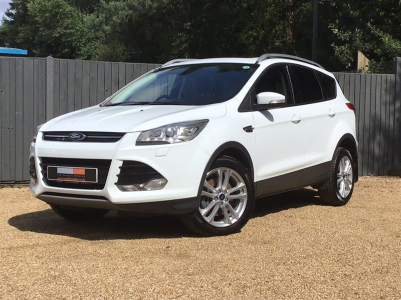used Ford Kuga TDCi Titanium X 5dr in in-dorset