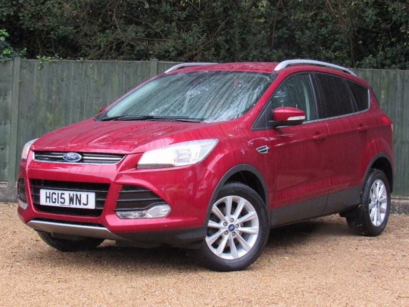 used Ford Kuga EcoBoost Titanium Station Wagon 5dr (start/stop) in in-dorset