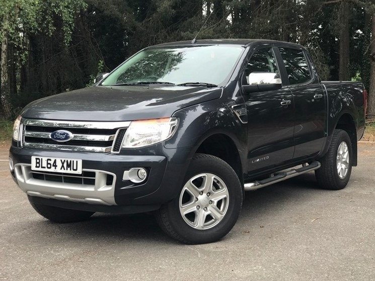 used Ford Ranger TDCi (EU5) Limited Double Cab Pickup 4x4 4dr in in-dorset