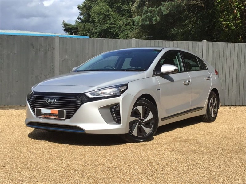 used Hyundai Ioniq h-GDi Premium DCT (s/s) 5dr in in-dorset