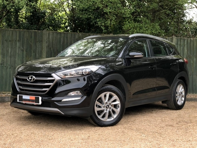 used Hyundai Tucson CRDi Blue Drive SE 2WD 5dr in in-dorset