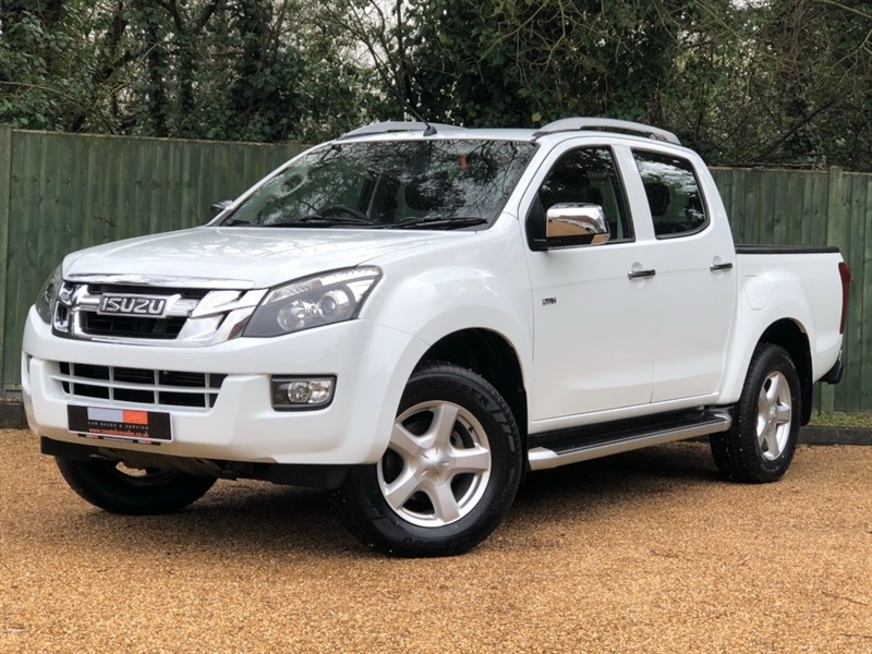 used Isuzu D-Max TD Utah Vision Double Cab Pickup 4x4 4dr in in-dorset