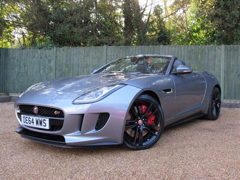 used Jaguar F-Type V8 S Quickshift 2dr in in-dorset