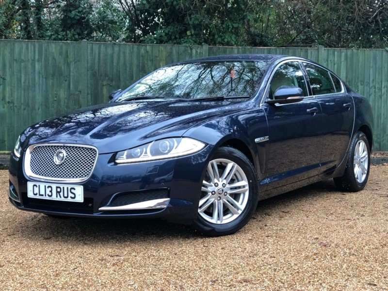 used Jaguar XF TD Luxury 4dr (start/stop) in in-dorset