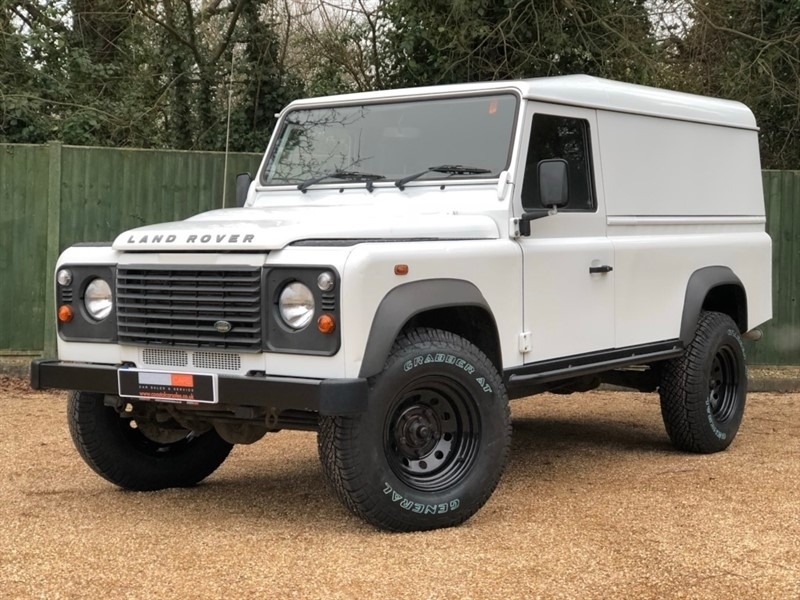 used Land Rover Defender 110 D Hard Top DPF 3dr in in-dorset