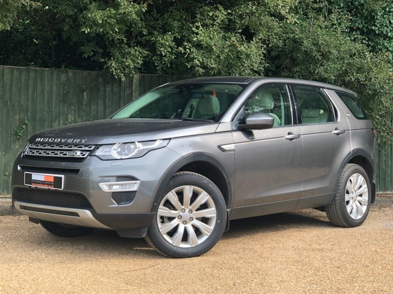 used Land Rover Discovery Sport SD4 HSE Luxury 4X4 5dr in in-dorset