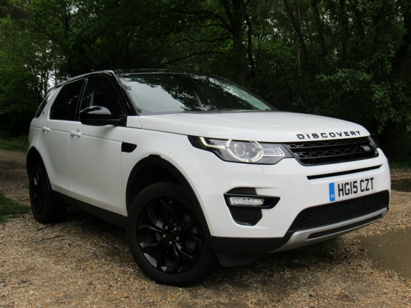 used Land Rover Discovery Sport SD4 HSE Luxury Station Wagon 4x4 5dr in in-dorset