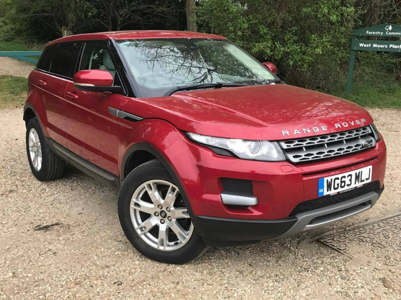 used Land Rover Range Rover Evoque 2.2 SD4 Pure Tech 4x4 5dr in in-dorset