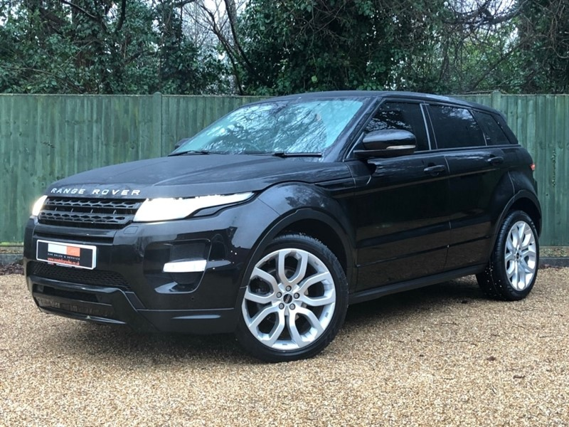 used Land Rover Range Rover Evoque SD4 Dynamic AWD 5dr in in-dorset