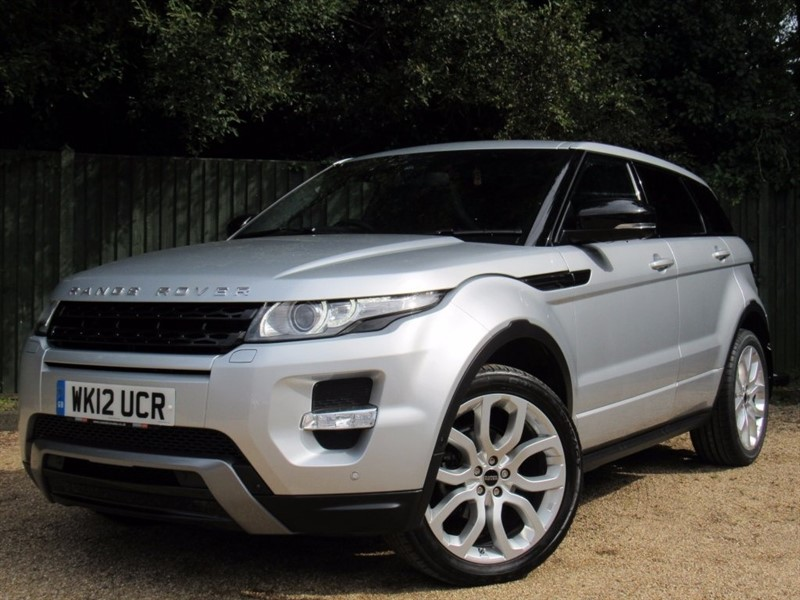 used Land Rover Range Rover Evoque Si4 Dynamic LUX 4x4 5dr in in-dorset
