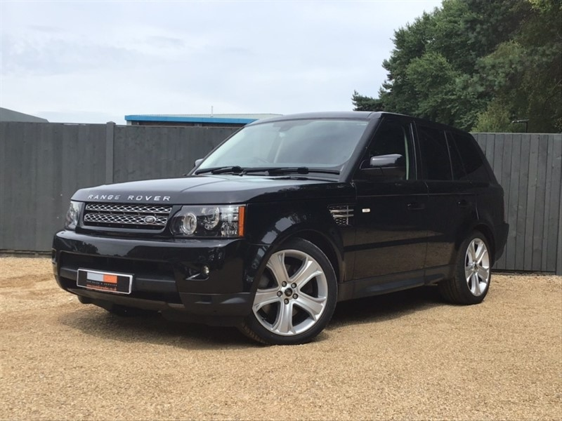 used Land Rover Range Rover Sport TD V6 HSE Black Edition 4X4 (s/s) 5dr in in-dorset