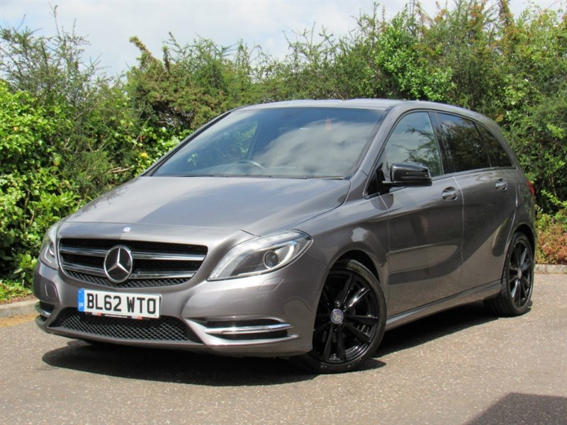 used Mercedes B180 CDI B Class BlueEFFICIENCY Sport 7G-DCT 5dr (start/stop) in in-dorset