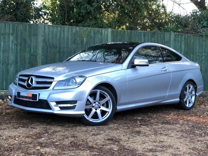 used Mercedes C180 C Class AMG Sport Edition (Premium Plus) 7G-Tronic Plus 2dr in in-dorset