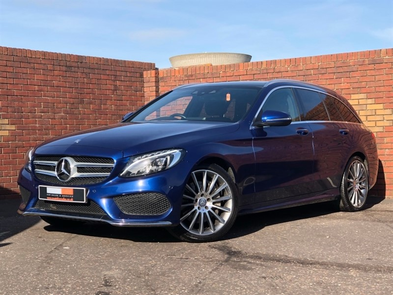 used Mercedes C220 C Class AMG Line Auto (s/s) 5dr in in-dorset