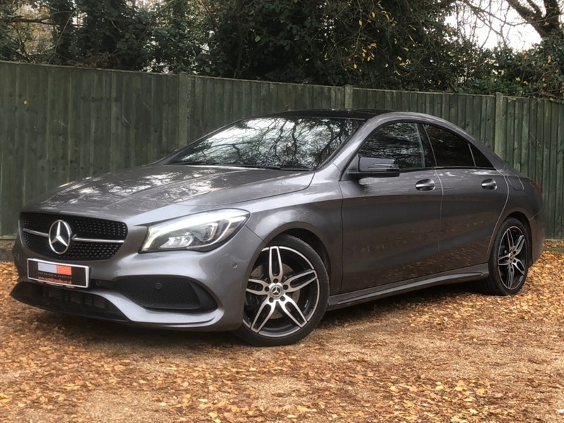 used Mercedes CLA 220 CLA Class AMG Line 7G-DCT (s/s) 4dr in in-dorset