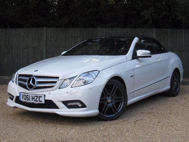 used Mercedes E350 E Class CDI BlueEFFICIENCY Sport Edition 125 7G-Tronic Plus 2dr (start/stop) in in-dorset