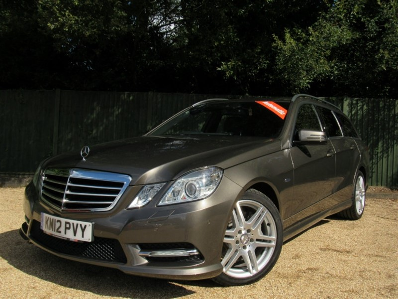 used Mercedes E350 E Class CDI BlueEFFICIENCY Sport 7G-Tronic 5dr in in-dorset