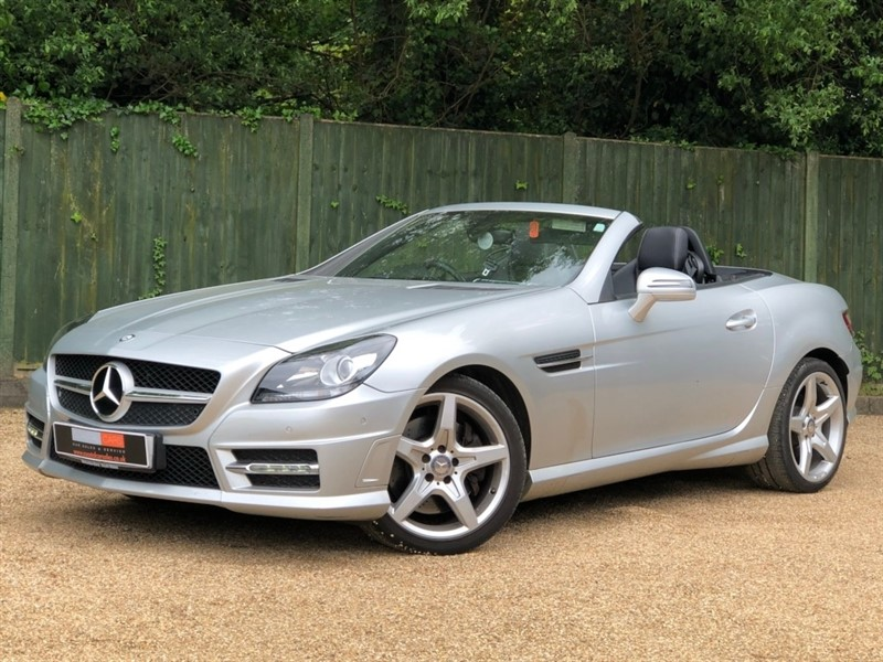 used Mercedes SLK SLK200 BlueEFFICIENCY AMG Sport 7G-Tronic Plus (s/s) 2dr in in-dorset