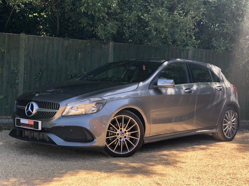 used Mercedes  A Class A180d AMG Line 7G-DCT (s/s) 5dr in in-dorset